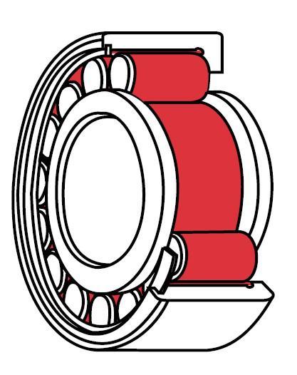 Graxa especial para rolamentos de alta rotação
