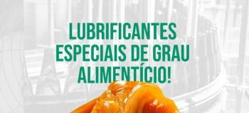 Oleo lubrificante grau alimenticio